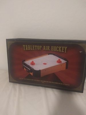 Table top air hockey game for Sale in Queen Creek, AZ