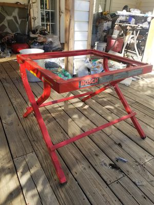 Bosch table saw stand. for Sale in Spartanburg, SC