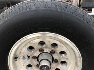 Trailer Tires (3) ST 275 75R15 Tow Master Radial (95% tread) for Sale in Pico Rivera, CA