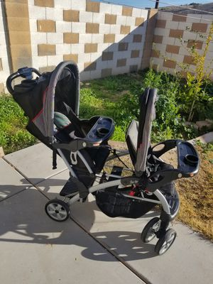 Baby trend double stroller for Sale in Peoria, AZ