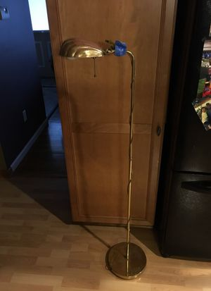"""Nice brass & metal """"shell"""" lamp. for Sale in Clawson, MI"""