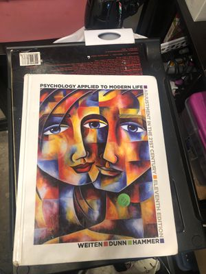Psychology book for Sale in Federal Way, WA