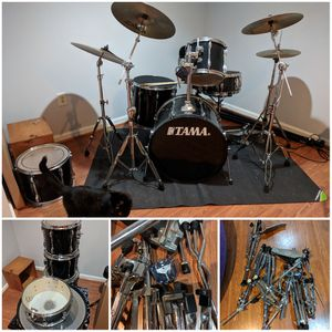 Tama Rockstar 5 piece drum set for Sale in Germantown, MD