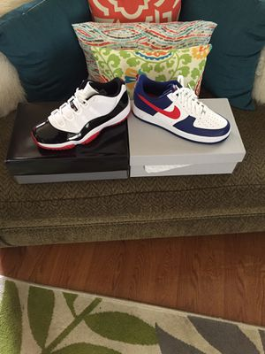 Retro Jordan 11s and Air Force 1s size 11.5 for Sale in Cleveland, OH
