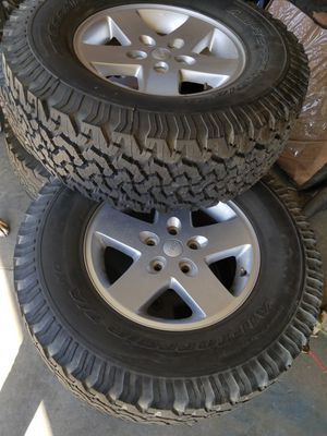 Jeep Wheels and Tires for Sale in Grand Terrace, CA