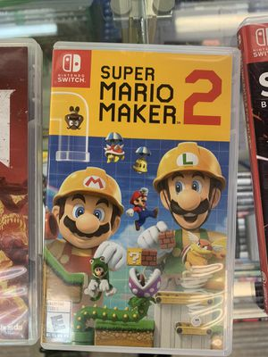 Nintendo Switch: Super Mario Maker 2 for Sale in Pflugerville, TX