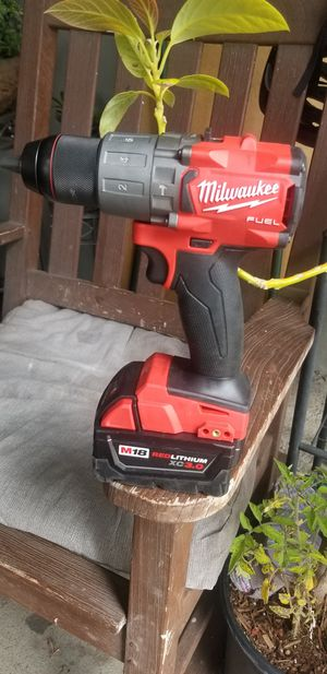 Milwaukee m18 fuel hammer drill with 3.0AH battery for Sale in San Jose, CA