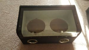 "10"" Audio Glass Subwoofer Box for Sale in Orlando, FL"