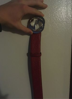 Gucci belt (size 32) for Sale in Brownstown Charter Township, MI