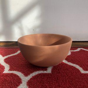 Like-New Handmade Terracotta Bowl Planter for Sale in Washington, DC