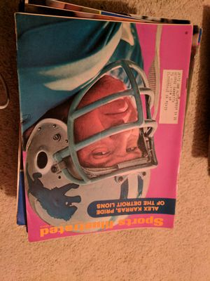 1970 sports illustrated Alex Karras for Sale in Corinth, ME