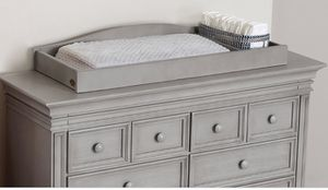 Baby's Cache Ash Gray changing Table topper for Sale in Fontana, CA