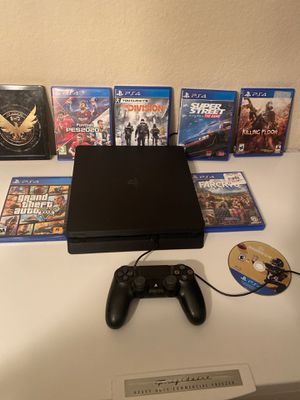 PS4 slim 1tb bundle for Sale in Orlando, FL
