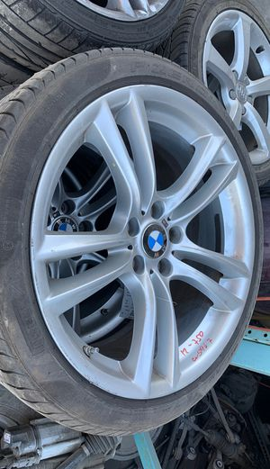 2012 BMW 750i 20x10 10 Double Spoke 275/35 Wheels Rims and Tires Set, CV5967 for Sale in Los Angeles, CA