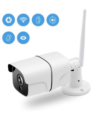 Outdoor Security Camera, 1080P WiFi Surveillance Camera with Night Vision, Motion Detection, 2 Way Audio, Remote Monitor Auto Motion for Sale in Corona, CA