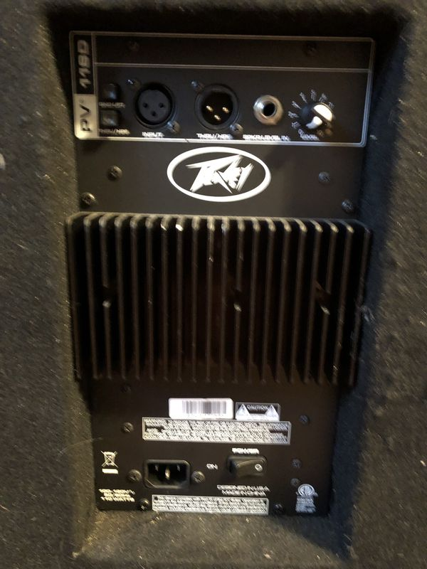 Powered Peavey subwoofer