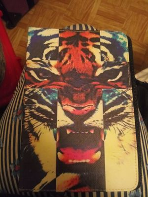 Tiger Collage Tablet or IPad Cover for Sale in Dallas, TX