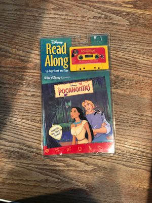 Pocahontas Read-Along Book & Tape for Sale in Pasco, WA