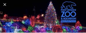 Zoo light tickets for Sale in Tacoma, WA