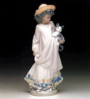 Lladro Black Legacy Collection Figurine-My New Pet #L5549 for Sale in Baltimore, MD