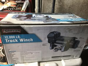 Traveler 12000lb winch for Sale in Baytown, TX