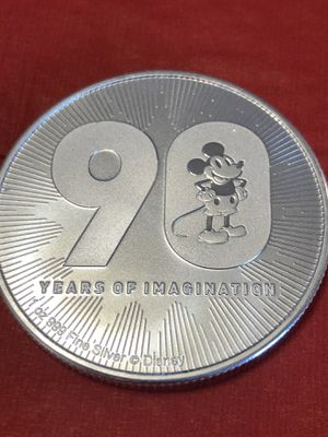 Disney Anniversary Silver Coin for Sale in Scottsdale, AZ