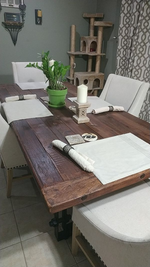 Old World Dinner Table