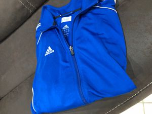 Blue Adidas Warmup Jacket Size Medium for Sale in Long Beach, CA