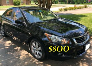 ✅ URGENTLY $8OO I sell my family car 2OO9 Honda Accord Sedan EX-L Runs and drives great.Clean title!!✅ for Sale in Vancouver, WA