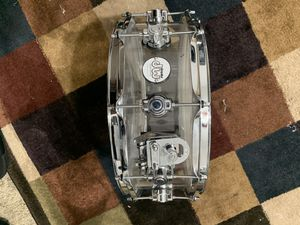 "DW Design Series Clear Acrylic Snare - 5.5"" x 14"" for Sale in Anaheim, CA"