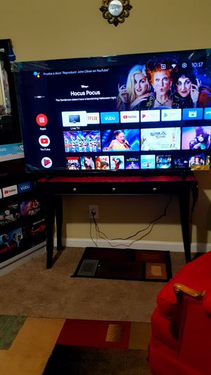 """Androidtv 4k , Philip's 65"""" control it with your voice for Sale in Raleigh, NC"""