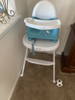 High chair & booster seat for Sale in Suffolk, VA
