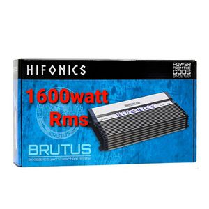 Hifonics brutis 1600watt rms brand new ready to bang your system. for Sale in Ontario, CA