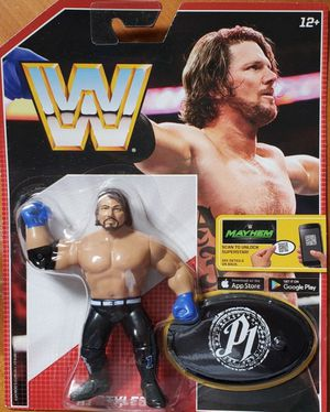 New WWE Retro App Action Figure. (Aj Styles) for Sale in Apopka, FL