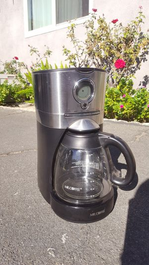 Coffee maker, Mr Coffee for Sale in San Dimas, CA