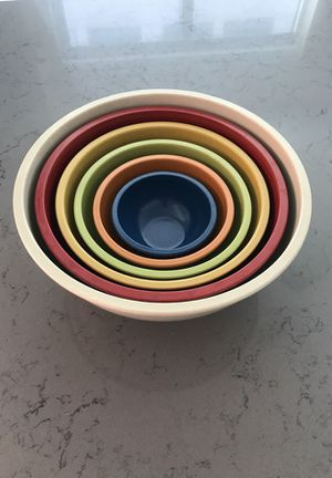 Complete 6 Piece mixing bowl set! for Sale in Washington, DC
