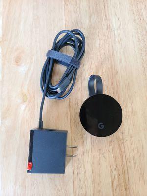 Genuine Google Chromecast Ultra 4K Digital Media Streamer - Black for Sale in San Diego, CA