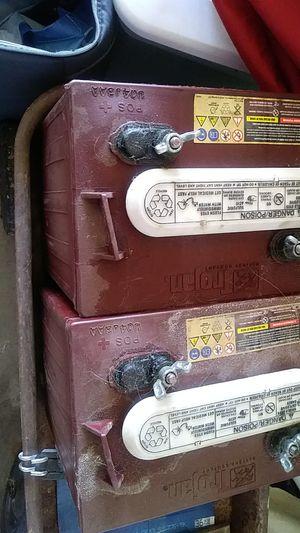 Trojan 6 volt RV Batteries for Sale in Folsom, CA