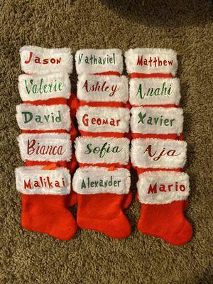 Personalized Mini Stockings for Sale in Modesto, CA