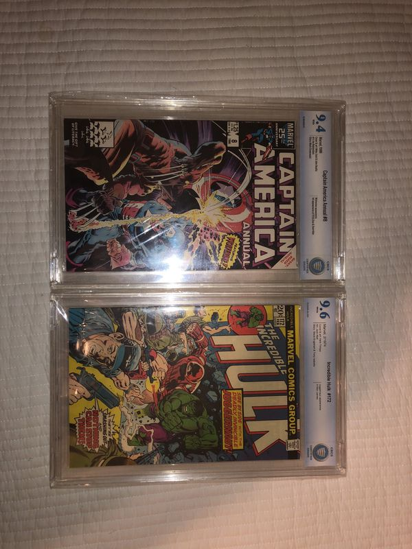 Marvel Comic Books Both Near mint