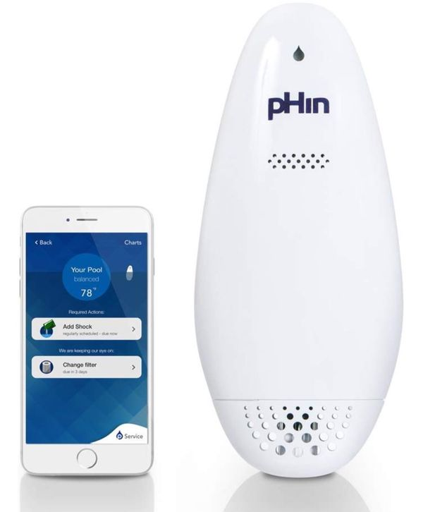 pHin Water Monitor for Pools and Hot Tubs, HPR1710 (DISCONTINUED)