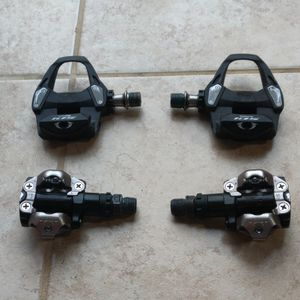 SPD-SL and SPD bike pedals for Sale in Springfield, VA