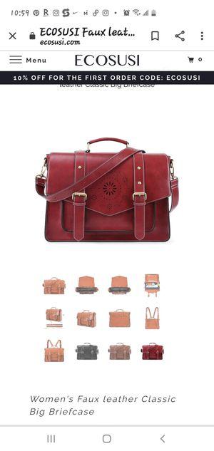 Ecosusi laptop messenger backpack bag for Sale in Charlotte, NC