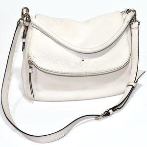 Kate Spade Beige Zipper Flap Closure Hobo Bag for Sale in Bellevue, WA