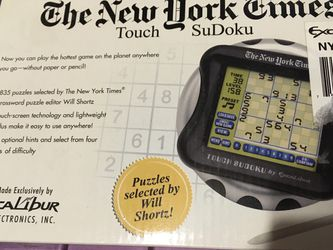 New New York Times Touch Sudoku For $20 Only!! Priceless, Negotiable!! for Sale in Frederick,  MD