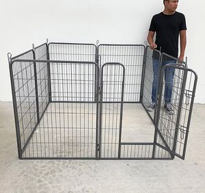"""(NEW) $100 Heavy Duty 40"""" Tall x 32"""" Wide x 8-Panel Pet Playpen Dog Crate Kennel Exercise Cage Fence Play Pen for Sale in Downey, CA"""