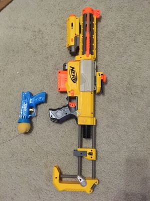 Nerf N strike toy with 6 darts for Sale in Fresno, CA