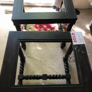 Coffee And Matching Side Tables for Sale in Ellicott City, MD