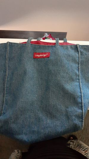 Longaberger bag for Sale in Greenwood, IN