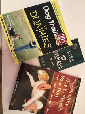 Used, Dog Training and Stretching Books for Sale for sale  Bronx, NY